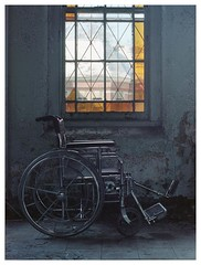 Like a rolling stone (Boris_Baden0v) Tags: wheelchair explore statehospital