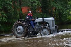 IMG_0461 (Yorkshire Pics) Tags: 1006 10062017 10thjune 10thjune2017 newbyhalltractorfestival ripon marchofthetractors marchofthetractors2017 ford fordcrossing river rivercrossing tractor tractors farmingequipment farmmachinery agriculture yorkshire northyorkshire