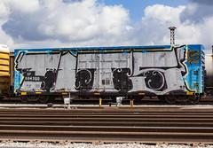 (o texano) Tags: houston texas graffiti trains freights bench benching tits wholecar
