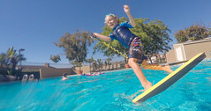 Let's go surfing now (2ToneEng) Tags: kid kids summer boogieboard pool fun playing happy gopro