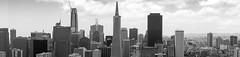 Skyline of San Francisco (frank.gronau) Tags: gebäude building sanfrancisco skyline white black weis schwarz 7 alpha sony gronau frank
