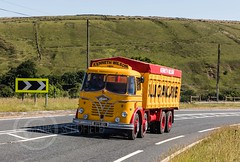 Last Motormans Run June 2017 066 (Mark Schofield @ JB Schofield) Tags: road transport haulage freight truck wagon lorry commercial vehicle hgv lgv haulier contractor foden albion aec atkinson borderer a62 motormans cafe standedge guy seddon tipper classic vintage scammell eightwheeler