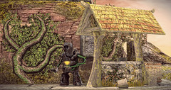 The Countess Stronghold (Imaginarium Poses & http://thegoodgorean.blogspot.) Tags: bluemoonenterprise far lore merak moonlightshadow mushilu papermoon peaches roawenwood somber souzoueien we3roleplay whimsical zerkalo