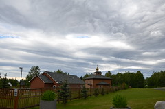 Cool clouds with Orthodox Church in Anchorage, AK (steve_scordino) Tags: orthodox church clouds