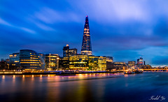 London night-view 倫敦的夜色 (T.ye) Tags: city scape london scoop hall southwark bank river thames urban view nightview cloud 泰晤士河 河 燈光 倫敦 市政府