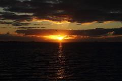 THROUGH THE CLOUDS (R. D. SMITH) Tags: sunrise water clouds sun dawn florida reflection melbourneflorida brevaedcountyforida canoneos7d morning