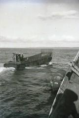 USS Bearss (DD-654), Launch, Landing Craft,  WWII (photolibrarian) Tags: ussbearssdd654 launch landingcraft wwii
