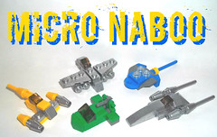 Micro Naboo (OB1 KnoB) Tags: lego star wars micro fighter naboo n1 starfighter flash speeder bongo