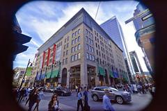 La Maison Simons (seb_reflex) Tags: sony a7 16mm f28 city ville montreal montréal