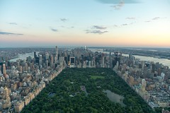 Centrally Located. (Ryan Hallock) Tags: buildings skyscraper sunset flynyon helicopter centralpark nyc