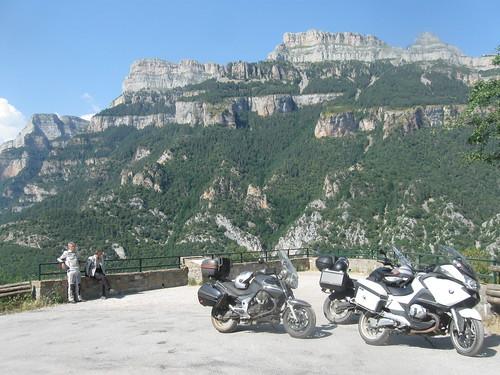 2017-06 Picos en Pyreneeën motoren voor Parque Nacional de Ordesa y Monte Perdido