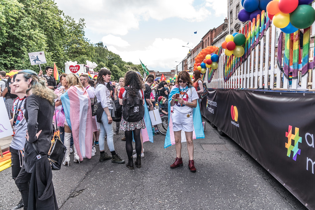 LGBTQ+ PRIDE PARADE 2017 [STEPHENS GREEN BEFORE THE ACTUAL PARADE]-129776
