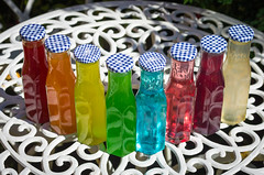 Rainbow Vodka 01 (frontios) Tags: frontios scottbartlett vodka rainbow colour colours color colors flavour alcohol flavor flavouring mix mixer drink liquid bottle bottles caps drinking glastonbury festival west holts appreciation society 2017 uk music