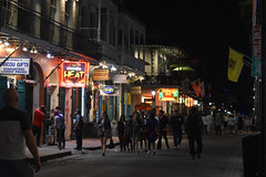 Bourbon Street (Sarah Constancia Photography) Tags: tourism party signs neon lights night frenchquarter city street bourbon louisiana neworleans