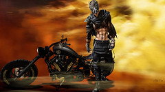 Acid air (Migan Forder) Tags: male fantasy motorcycle rider bikes bobber iron second life turlaccor custombike motorcycles chopper virtual world moto gp cross enduro harley sportbike roadster biker bike cycles bici vehículo motocicleta apocalypse