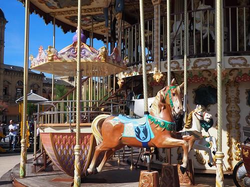 Carousel in San Sebastian