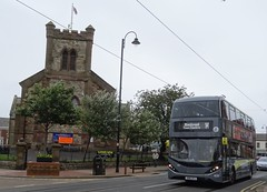 Fleetwood (Andrew Stopford) Tags: sn16ovj adl enviro400 mmc city blackpooltransport fleetwood