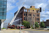 Rockford structure fire (antennawizard) Tags: rockford illinois fire structure apparatus water ladder aerial vehicle firefighter hose ldh hanley building architecture truck il historic