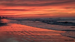 Best sunrise of our trip (flintframer) Tags: north myrtle beach south carolina sunrise wow dattilo nature waves sky brilliant atlantic ocean canon eos 7d markii ef1635