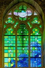 Romilly Église Saint-Martin (Denis Krieger) Tags: vitrail vitrais stained glass window vetrata colorata glasmalerei farbfenster