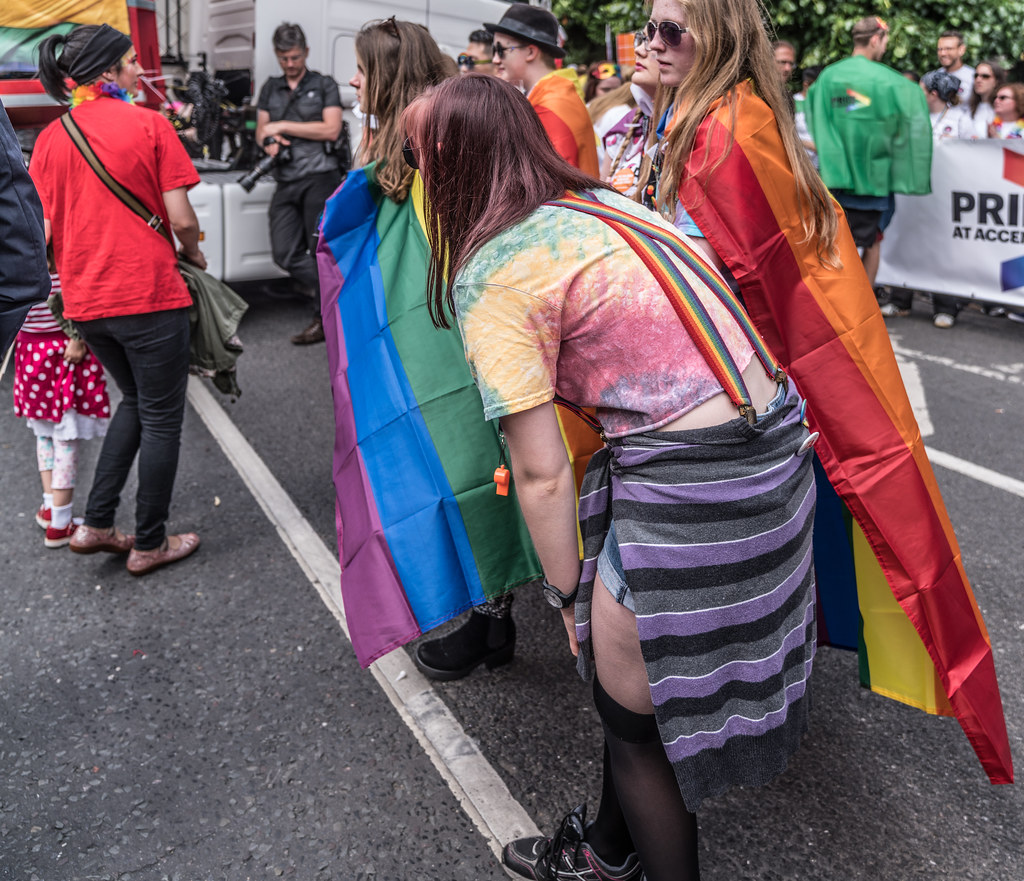 LGBTQ+ PRIDE PARADE 2017 [STEPHENS GREEN BEFORE THE ACTUAL PARADE]-129809