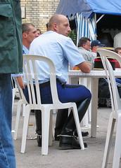 """bootsservice 04 2433 (bootsservice) Tags: armée army uniforme uniformes uniform uniforms cavalerie cavalry cavalier cavaliers rider riders bottes boots """"ridingboots"""" weston eperons spurs equitation gendarme gendarmerie militaire military « garde républicaine » paris"""