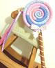 Maxi Lollipop, by Funny Amandita (Funny Amandita) Tags: pirulitos de tecido pritulitos decorativos festa candy land