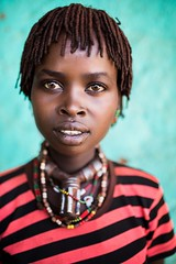 Etiopia (mokyphotography) Tags: etiopia ethnicity etnia ethnicgroup etnie hamer donna woman southetiopia omovalley omoriver omorate omo tribù tribal tribe travel people portrait person ritratto