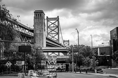 Ben Franklin Bridge from Race St 2 (t conway) Tags: