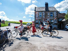 Eroica Brittania 2017 (Pollylop) Tags: eroica brittania 2017 june cycle handsome derbyshire