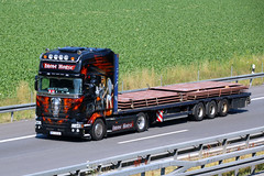 Scania R 'Iron Horse' / Schießler Transport (karl.goessmann) Tags: scania ironhorse schiesler transport scheifling trucks