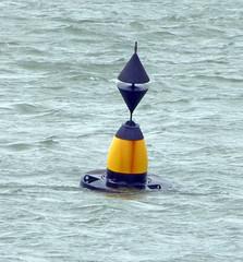 Cardinal Buoy, Caernarfon. (piktaker) Tags: wales gwynedd buoy buoyant navigation trinityhouse eastcardinal caernarfon
