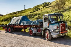 Last Motormans Run June 2017 010 (Mark Schofield @ JB Schofield) Tags: road transport haulage freight truck wagon lorry commercial vehicle hgv lgv haulier contractor foden albion aec atkinson borderer a62 motormans cafe standedge guy seddon tipper classic vintage scammell eightwheeler