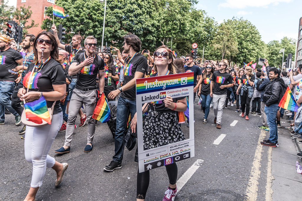 LGBTQ+ PRIDE PARADE 2017 [ON THE WAY FROM STEPHENS GREEN TO SMITHFIELD]-130080