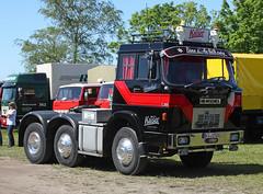 Henschel truck (Schwanzus_Longus) Tags: wilhelmshaven german germany old classic vintage truck vehicle lorry freight cargo transport semi trailer tractor box lkw laster lastwagen sattelschlepper coe cab over engine f201 s