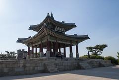서장대, Seojangdae, Suwon, South Korea (Tiphaine Rolland) Tags: seojangdae suwon southkorea korea asia asie nikond3000 nikon d3000 서장대 대한민국 수원시 수원 화성 수원화성 hwaseong forteresse fort fortress pavillon pavilion
