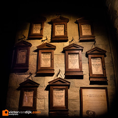 Harry Potter the Exhibition (Victor van Dijk (Thanks for 4M views!)) Tags: harrypotter movie props film screenplay exhibition cinemec warnerbrothers eos m3 222 22mm fav fave faved favorite provlamation wall stone framed frames