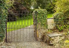 A Church Gate (PRPhoto-Wales) Tags: david pembrokeshire stdavids ancient church gate hidden photograph prphotowales rural saint travel