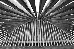 Palacio de Congresos (leuntje) Tags: oviedo asturia spain modoo palaciodecongresos architecture calatrava santiagocalatrava bw