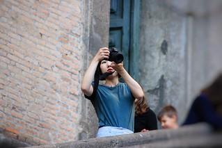Strange ways of photographing