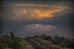 West Texas afternoon thunderstorms (unwizetrader) Tags: fortdavis june2017 mcdonaldobservatory westtexas