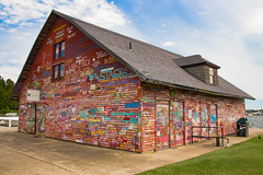 Anderson's Warehouse (Images by MK) Tags: andersonswarehouse andersonsdock wisconsin wi ephraim boats water harbor graffiti colorful