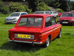 Hillman Imp - LCU 565P (2) (Andy Reeve-Smith) Tags: hillman imp lcu565p rootes rootesgroup louth louthclassiccarshow lincolnshire lincolnshirewolds deightonfields