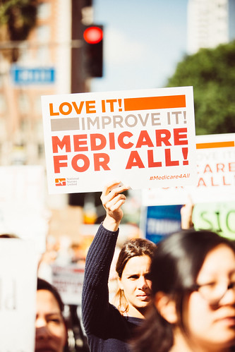 From flickr.com: Medicare for All Rally {MID-269467}