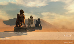 22769 - Sphinx Statue for We <3 RP : July 2017 (manuel ormidale) Tags: sphinx statue antique antiquestatue marble whitemarble blackmarble copper decoration decorationitem outdoordecoration outdoor indoor static staticdecoration mesh meshdecoration 22769 22769~bauwerk pacopooley we3rp weloveroleplay