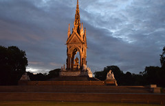 DSC_5341 (photographer695) Tags: hyde park london the albert memorial is situated kensington gardens commissioned by queen victoria memory her beloved husband prince who died typhoid 1861