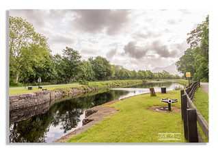 Along the Caledonian canal near Corpach
