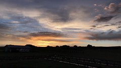 Play on Colors Sunset (northern_nights) Tags: sunset timelapse cheyenne wyoming firesky skyfire redskies clouds sky dusk iphone7plus