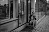 2_DSC8399 (dmitryzhkov) Tags: russia moscow documentary street life human monochrome reportage social public urban city photojournalism streetphotography people woman beauty bw pretty reflection glass seat sit dmitryryzhkov blackandwhite everyday candid stranger