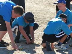 maximum of control ...for the match point ? (gerrygoal2008) Tags: petanque balls measurement measure discrimination youth sport tension attention serious attentive control determination